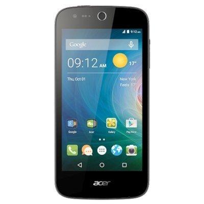 Смартфон Acer Liquid Z330 черный (HM.HPUEU.002)Смартфоны Acer<br>Смартфон Acer Liquid Z330 8Gb черный моноблок 3G 4G 2Sim 4.5 480x854 Android 5.1 5Mpix WiFi BT GSM900/1800 GSM1900 TouchSc MP3 microSD<br>