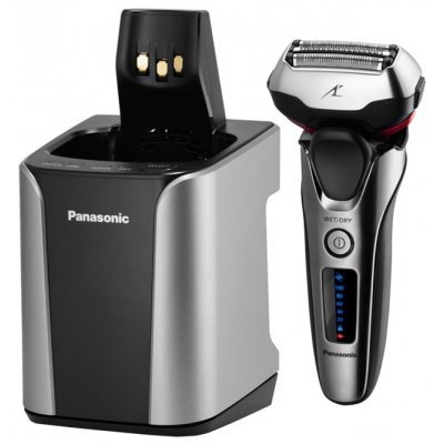 Электрическая бритва Panasonic ES-LT8N-S820 (ES-LT8N-S820)Электрические бритвы Panasonic<br>электробритва<br>сеточная система бритья<br>сухое / влажное бритье<br>работает от аккумулятора<br>время автономной работы до 45 мин<br>3 бритвенные головки<br>плавающие головки<br>подвижный бритвенный блок<br>быстрая зарядка для одного сеанса бритья<br>
