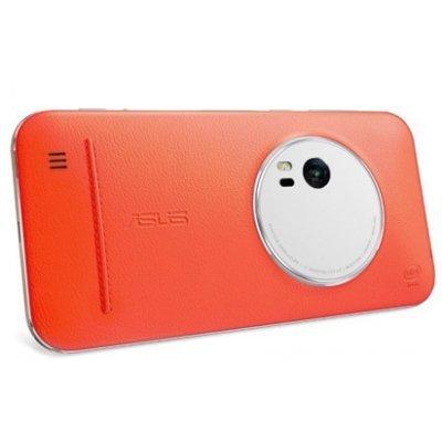 купить Чехол для смартфона ASUS для ZenFone Zoom ZX551ML Leather Case оранжевый (90AC0100-BBC005) (90AC0100-BBC005) недорого