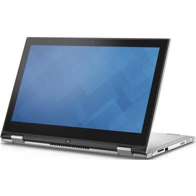 Ультрабук-трансформер Dell Inspiron 7359 (7359-1851) (7359-1851)Ультрабуки-трансформеры Dell<br>Трансформер Dell Inspiron 7359 Core i5 6200U/4Gb/500Gb/Intel HD Graphics/13.3/IPS/Touch/HD+ (1366x768)/Windows 10/silver/WiFi/BT/Cam<br>