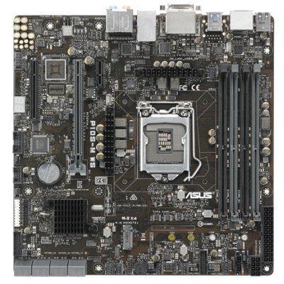 Материнская плата ПК ASUS P10S-M WS (90SB05Q0-M0EAY0)Материнские платы ПК ASUS<br>материнская плата форм-фактора microATX<br>сокет LGA1151<br>чипсет Intel C236<br>4 слота DDR4 DIMM, 2133 МГц<br>разъемы SATA: 6 Гбит/с - 8<br>