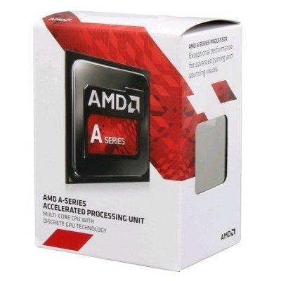 Процессор AMD A8-7600 Kaveri (FM2+, L2 4096Kb) Box (AD7600YBJABOX) проц amd soc a