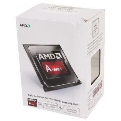 Процессор AMD A4-6300 Richland (FM2, L2 1024Kb) BOX (AD6300OKHLBOX)