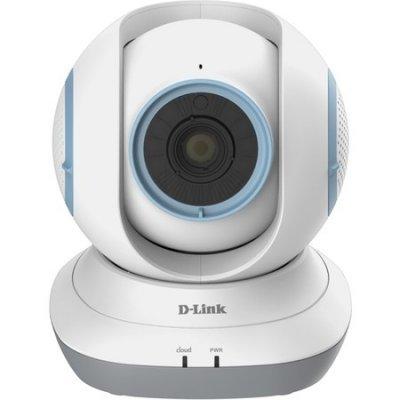 Камера видеонаблюдения D-Link DCS-855L/A1B (DCS-855L/A1B)Камеры видеонаблюдения D-Link<br>беспроводная облачная сетевая HD-камера с приводом наклона/поворота для наблюдения за ребенком<br>