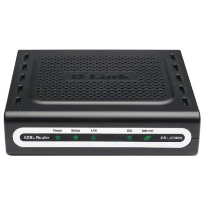 Wi-Fi xDSL точка доступа (роутер) D-Link DSL-2500U (DSL-2500U/BA/D4C)