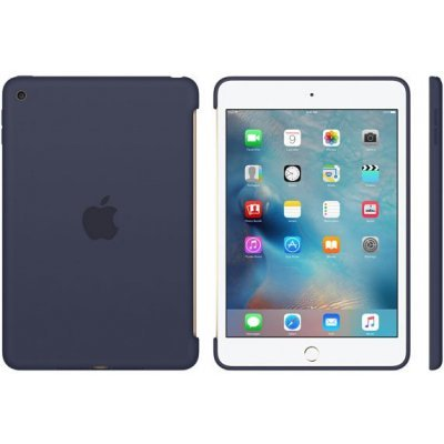 все цены на  Чехол для планшета Apple для iPad mini 4 Silicone Case - Midnight Blue MKLM2ZM/A (MKLM2ZM/A)  онлайн