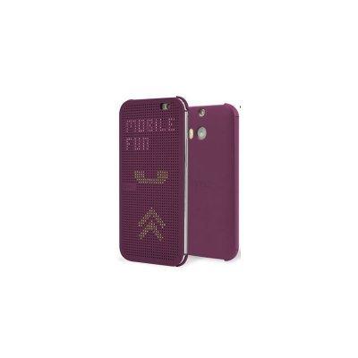 ����� ��� ��������� HTC One E8 dot case violet (HC M110) (99H11642-00)