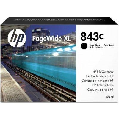 Картридж для струйных аппаратов HP 843C черный 400ml (C1Q65A)Картриджи для струйных аппаратов HP<br>Cartridge HP 843C с черными чернилами 400 мл PageWideXL/PageWide 5000/4x000/8000<br>