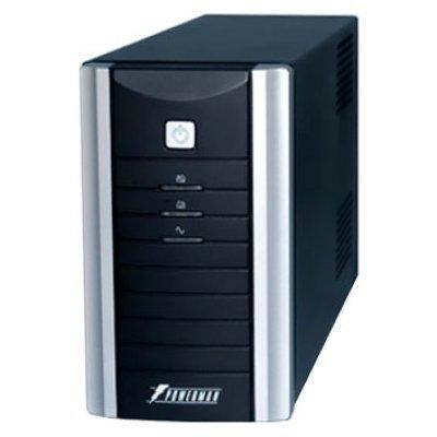 Источник бесперебойного питания Powerman Black Star Plus 500 (BLACKSTARPLUS500)Источники бесперебойного питания Powerman<br>интерактивный ИБП<br>1-фазное входное напряжение<br>выходная мощность 500 ВА / 300 Вт<br>20 мин работы при половинной нагрузке<br>выходных разъемов: 2<br>разъемов с питанием от батареи: 2<br>интерфейсы: RS-232<br>время зарядки 10 ч<br>