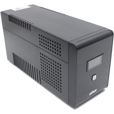 Источник бесперебойного питания Powerman Smart Sine 2000 (SMARTSINE2000)Источники бесперебойного питания Powerman<br>интерактивный ИБП<br>1-фазное входное напряжение<br>выходная мощность 2000 ВА / 1400 Вт<br>выходных разъемов: 4<br>разъемов с питанием от батареи: 4<br>интерфейсы: USB<br>время зарядки 6 ч<br>
