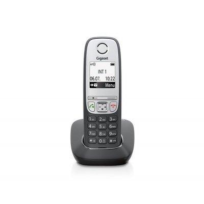 Радиотелефон Gigaset A415H (A415H)Радиотелефоны Gigaset<br>Трубка доп. Dect Gigaset A415H черный для A415<br>