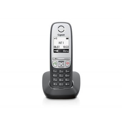 Радиотелефон Gigaset A415H (A415H) gigaset a415 trio black