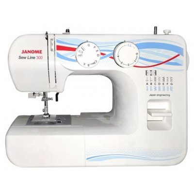 Швейная машина Janome Sew Line 300 (SEW LINE 300) швейная машина janome dresscode