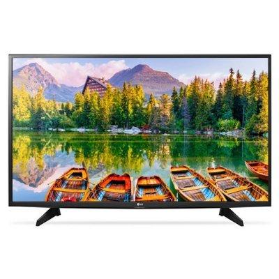 ЖК телевизор LG 43 43LH513V (43LH513V)ЖК телевизоры LG<br>ЖК-телевизор, LED-подсветка, диагональ 43 (109 см), формат 1080p Full HD, 1920x1080, прием цифрового телевидения (DVB-T2), просмотр видео с USB-накопителей, тип подсветки: Direct LED, HDMI-вход<br>