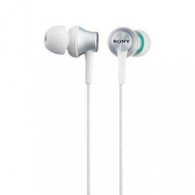 Наушники Sony MDR-EX450AP белый (MDREX450APW.CE7) наушники sony mdr ex150ap с микрофоном