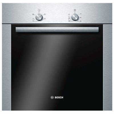 Электрический духовой шкаф Bosch HBA10B250E (HBA10B250E)Электрические духовые шкафы Bosch<br>электрическая независимая духовка<br>59.5 х 59.5 x 52 см<br>утапливаемые переключатели<br>класс A по энергопотреблению<br>гриль<br>