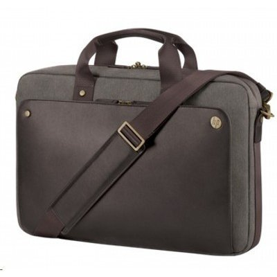 Сумка для ноутбука HP Executive Top Load 15.6 (P6N19AA) (P6N19AA)Сумки для ноутбуков HP<br>Case Executive Brown Top Load (for all hpcpq 10-15.6 Notebooks)<br>