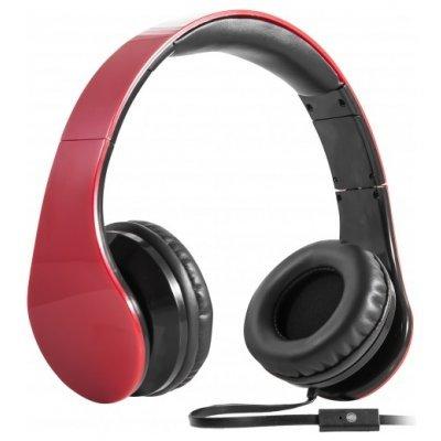 Наушники Defender HN-047 красный (63046) defender phoenix hn 928 наушники с микрофоном