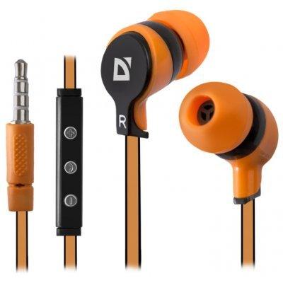 Наушники Defender Pulse-450 (63450)Наушники Defender<br>вставные наушники (затычки) с микрофоном<br>регулятор громкости<br>импеданс 32 Ом<br>чувствительность 105 дБ<br>диаметр мембраны 10 мм<br>разъём mini jack 3.5 mm<br>длина провода 1.2 м<br>