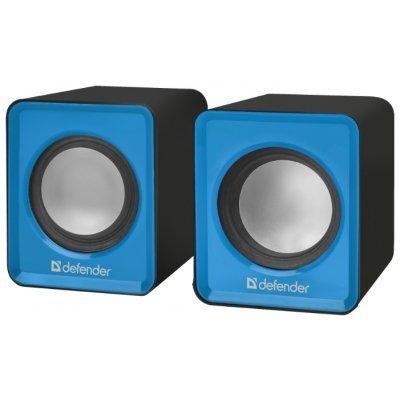Компьютерная акустика Defender SPK 22 синий (65501)Компьютерная акустика Defender<br>компьютерная акустика стерео<br>суммарная мощность 5 Вт<br>однополосные колонки<br>материал корпуса колонок: пластик<br>питание от USB<br>диапазон частот 200 - 18000 Гц<br>