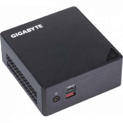 Тонкий клиент Gigabyte GB-BSI5HA-6200 (GB-BSI5HA-6200)Тонкие клиенты Gigabyte<br>Intel Core i5 6200U, 2300 МГц, DDR-4, без HDD, Intel HD Graphics 520, 1000 Мбит/с, Wi-Fi, Bluetooth, USB 3.0, USB 3.1, HDMI, Mini DisplayPort, без ОС, чёрный<br>