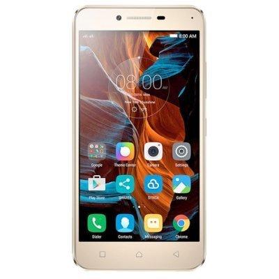 Смартфон Lenovo Vibe K5 золотистый (PA2M0042RU)Смартфоны Lenovo<br>Смартфон Lenovo K5 (A6020A40) DS 5(1920x1080) LTE Cam(13/5) MSM8939 1.4ГГц(8) (2/16)Гб microSD до 32Гб A5.1 2750мАч Золотистый PA2M0042RU<br>