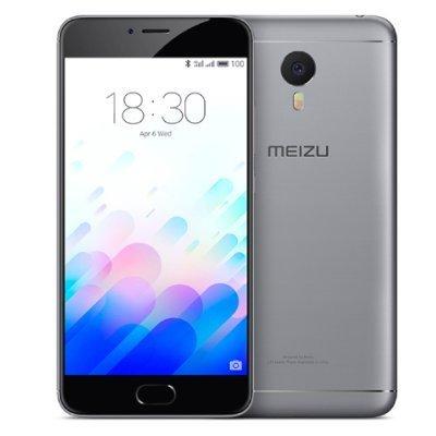 Смартфон Meizu M3 Note 2Ram 16Gb Серый/Черный (L681H-16-GB)Смартфоны Meizu<br>Смартфон Meizu M3 Note DS 5,5(1920x1080) LTE Cam(13/5) MT6755 1,8ГГц(8) (2/16)Гб microSD 128Гб A5.1 4100мАч Серый/Черный MZU-M681H-16-GB<br>