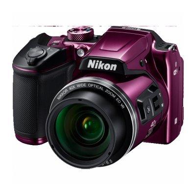 Цифровая фотокамера Nikon Coolpix B500 фиолетовый (VNA952E1) профессиональная цифровая slr камера nikon d3200 18 55mmvr