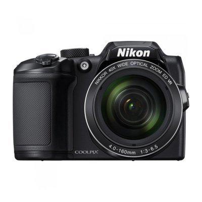 Цифровая фотокамера Nikon Coolpix B500 черный (VNA951E1) профессиональная цифровая slr камера nikon d3200 18 55mmvr