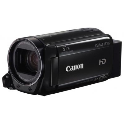 Цифровая видеокамера Canon Legria HF R76 черный (1237C004) видеокамера canon legria hf r86 видеокамера черный