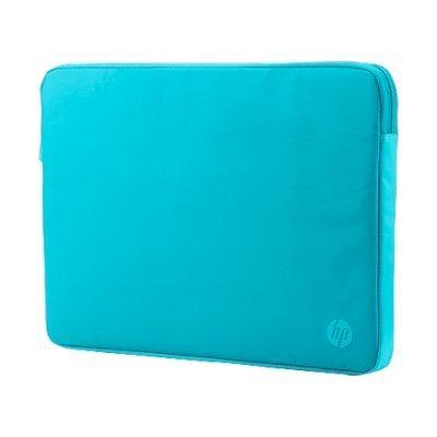 Сумка для ноутбука HP Spectrum 11.6 бирюзовый (K0B44AA) (K0B44AA)Сумки для ноутбуков HP<br>Сумка для ноутбука 11.6 HP Spectrum бирюзовый синтетика (K0B44AA)<br>