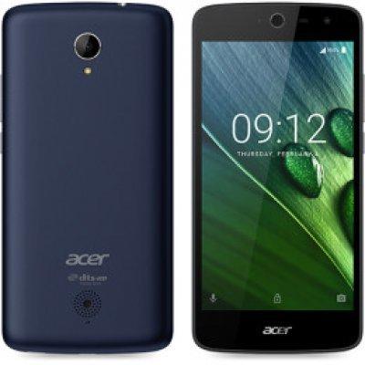 Смартфон Acer Liquid Zest Z528 темно-синий (HM.HUSEU.002)Смартфоны Acer<br>ОС Android 6.0, экран: 5 дюйма, IPS, 1280x720, процессор: 1000МГц, 4-х ядерный, камера: 8Мп, время работы в режиме разговора, до: 10ч, в режиме ожидания, до: 450ч<br>
