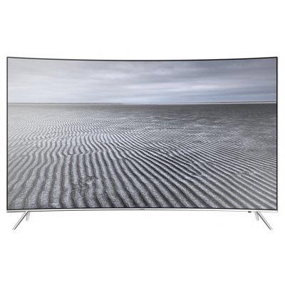 ЖК телевизор Samsung 55 UE55KS7500U (UE55KS7500UXRU)ЖК телевизоры Samsung<br>ЖК-телевизор, LED-подсветка<br>изогнутый экран<br>диагональ 55 (140 см)<br>Smart TV<br>формат 4K UHD, 3840x2160<br>прием цифрового телевидения (DVB-T2)<br>подключение к Wi-Fi<br>подключение к Ethernet<br>картинка в картинке<br>