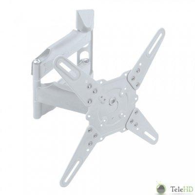 Кронштейн для ТВ и панелей настенный Kromax ATLANTIS-40 22-65 белый (ATLANTIS-40 white) kromax micro 3 white кронштейн для свч печей