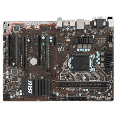Материнская плата ПК MSI H110 PC MATE (H110 PC MATE)