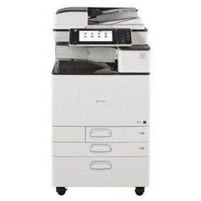 Цветной лазерный МФУ Ricoh MP C2011SP (417319)Цветные лазерные МФУ Ricoh<br>МФУ (принтер, сканер, копир) для небольшого офиса 4-цветная лазерная печать до 20 стр/мин макс. формат печати A3 (297 x 420 мм) макс. размер отпечатка: 297 x 420 мм цветной ЖК-дисплей двусторонняя печать Ethernet<br>