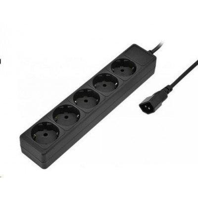 все цены на  Сетевой фильтр SVEN SV-00546 (5 розеток), 1.8m, черный (SV-00546)  онлайн