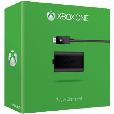 Зарядное утройство для игровых консолей Microsoft Xbox One play and charge kit (S3V-00008)Зарядные устройства для игровых консолей Microsoft<br>зарядное устройство<br>