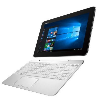Ультрабук-трансформер ASUS Transformer Book T100HA 2Gb 32Gb dock белый (90NB074B-M07120)Ультрабуки-трансформеры ASUS<br>Трансформер Asus T100HA-FU004T Atom X5 Z8500/2Gb/SSD32Gb/Intel HD Graphics/10.1/Touch/HD (1280x800)/Windows 10 64/white/WiFi/BT/Cam<br>