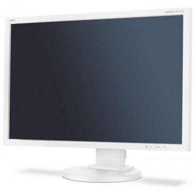 Монитор NEC 24 MultiSync E245WMi серебряный/белый (E245WMI silver) монитор 24 nec multisync p242w black ah ips 1920x1200 8ms vga dvi hdmi displayport