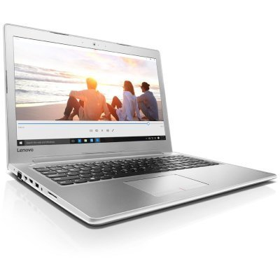 Ноутбук Lenovo ideaPad 510-15 (80SR00B5RK) (80SR00B5RK)Ноутбуки Lenovo<br>510-15ISK, 15.6 FHD IPS, i5-6200U (2.3GHz), 6GB (4+2), 1TB,  nVIDIA GeForce G940MX 2GB, WiFi, BT, WebCam, 2 cell, Win 10, White<br>