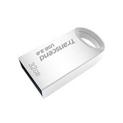 USB накопитель Transcend 32GB JETFLASH 710 серебристый (TS32GJF710S) флешка usb 32gb transcend jetflash 710 ts32gjf710s серебристый