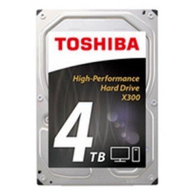 Жесткий диск ПК Toshiba 4Tb HDWE140EZSTA (HDWE140EZSTA) жесткий диск 3 5 4 tb 7200rpm 128mb cache toshiba sataiii hdwe140ezsta