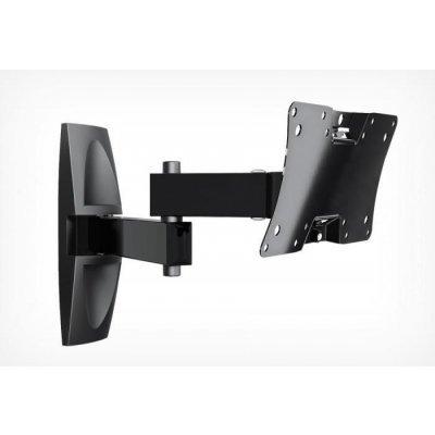 Кронштейн для ТВ и панелей настенный Holder LCDS-5064 12-32 черный (LCDS-5064) тумба holder albero tv 37140 н черная