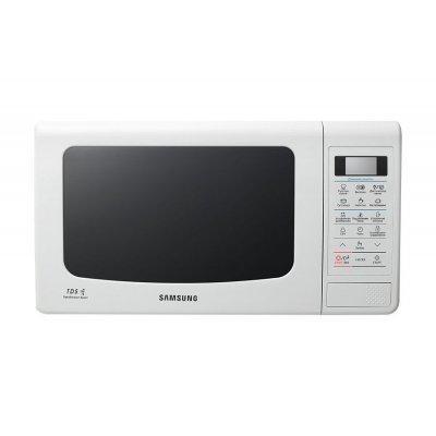 Микроволновая печь Samsung ME83KRQW-3 белый (ME83KRQW-3)Микроволновые печи Samsung<br>Samsung ME83KRQW-3 23л. 800Вт белый<br>
