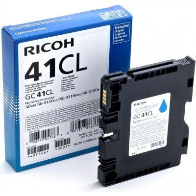 Картридж для струйных аппаратов Ricoh GC 41СL голубой (405766)Картриджи для струйных аппаратов Ricoh<br>Принт-картридж тип GC 41СL (0.6K) голубой Aficio SG 2100N/ 3110DN/ 3110DNw<br>