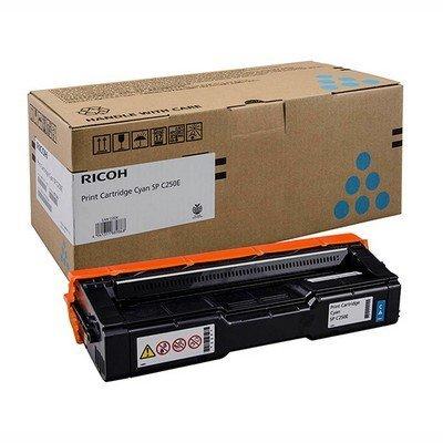 Тонер-картридж для лазерных аппаратов Ricoh тип SP C250E голубой (407544)Тонер-картриджи для лазерных аппаратов Ricoh<br>Принт-картридж тип SP C250E (1.6K) голубой Ricoh SP C250DN/C250SF<br>