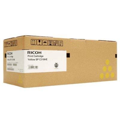 Тонер-картридж для лазерных аппаратов Ricoh тип SPC310E желтый (407639)Тонер-картриджи для лазерных аппаратов Ricoh<br>Принт-картридж тип SPC310E (2,5K) желтый Ricoh Aficio SP C231SF/C232SF/C231N/C232DN/C311N/C312DN<br>