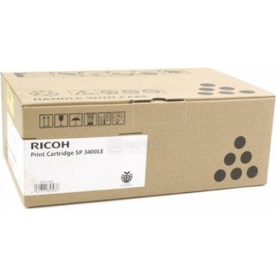 Тонер-картридж для лазерных аппаратов Ricoh тип SP3400LE (407647)Тонер-картриджи для лазерных аппаратов Ricoh<br>Принт-картридж тип SP3400LE (2,5K) Ricoh Aficio SP3400N/SP3410DN/SP3400SF/SP3410SF/Aficio SP3500N/SP3510DN/SP3500SF/SP3510SF<br>