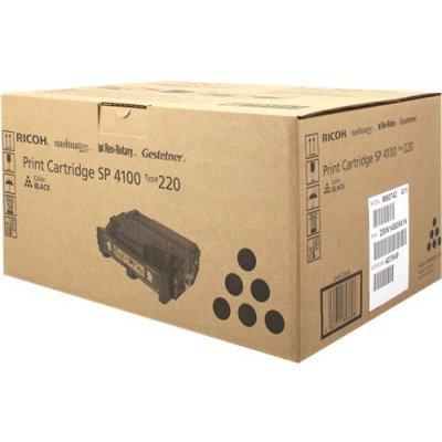 Тонер-картридж для лазерных аппаратов Ricoh тип SP4100 (407649)Тонер-картриджи для лазерных аппаратов Ricoh<br>Принт-картридж тип SP4100 Aficio SP 4100SF/4110SF/SP 4100N/4110N/SP4210N/SP4310N<br>